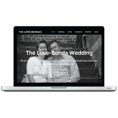 Love Bonda Special Event Website Design