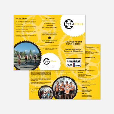 team hthh brochure design